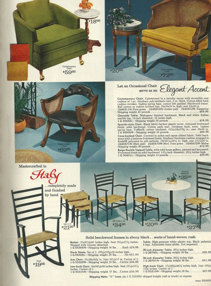 Vintage Furniture Ad From The 1960 S Vintage Living Room Furniture Patio Furniture Redo Furniture Design