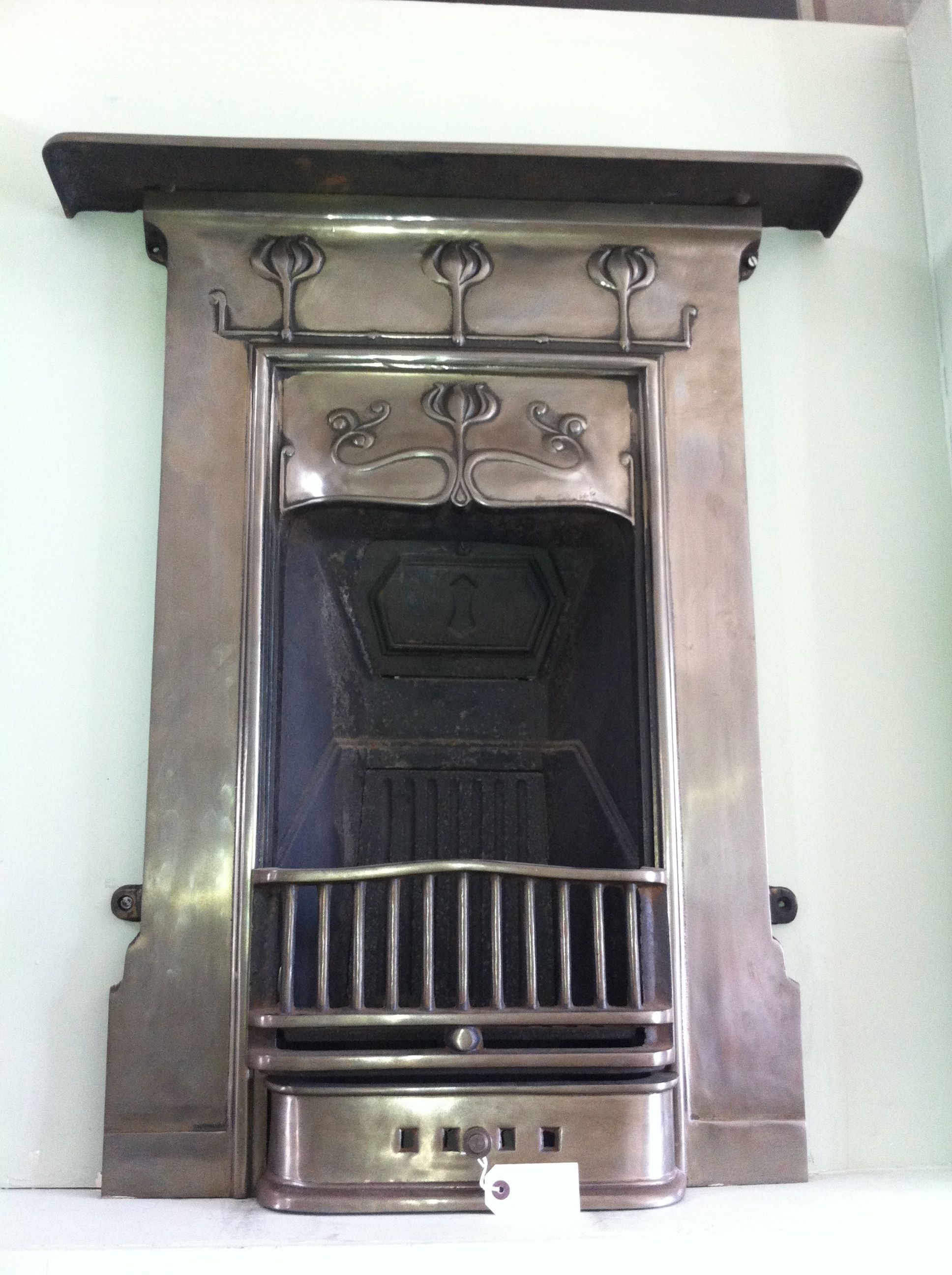 beautiful 30's fireplace