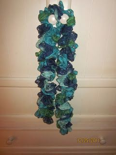 how to make this ruffle scarf