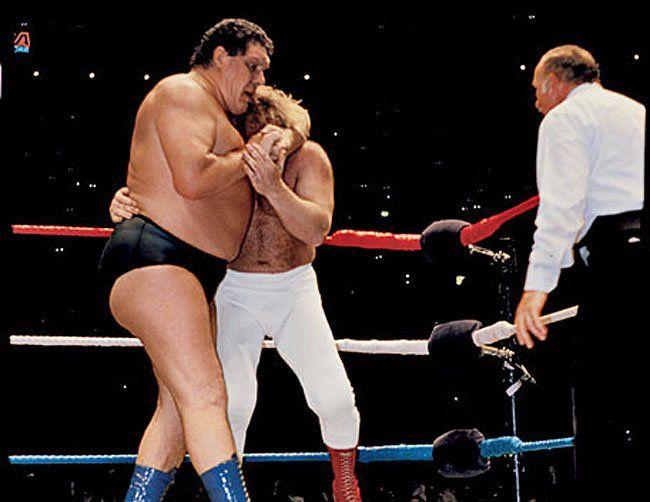 Resultado de imagem para andre the giant vs big john studd