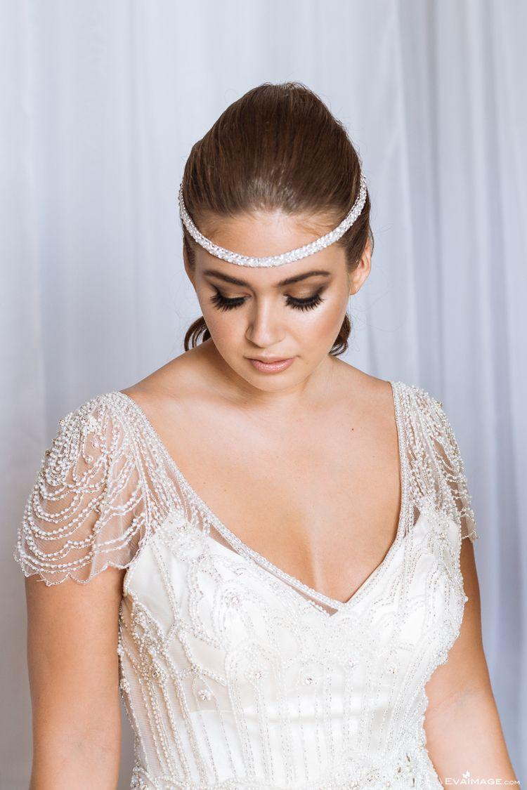 "b280b13743026 Ivory over Champagne ""Ettia"" wedding dress by Maggie Sottero ..."