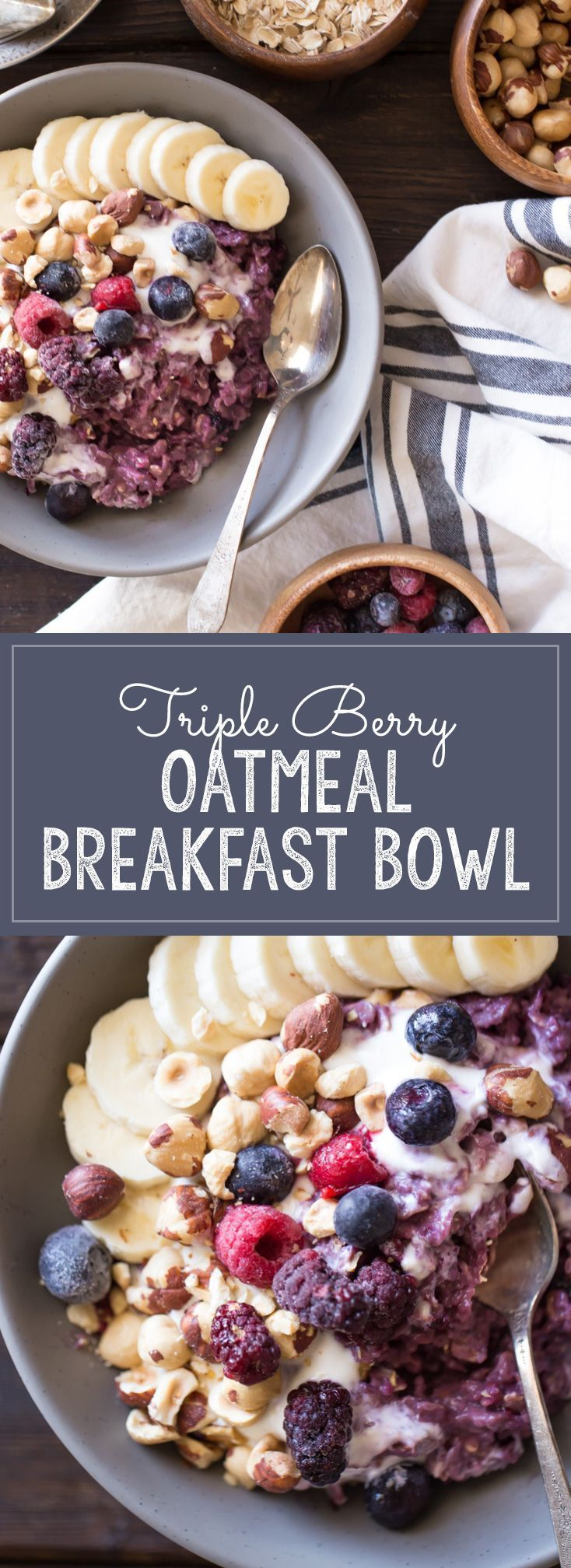 10 Oatmeal Breakfast Recipes You Never Knew Existed #vanillayogurt
