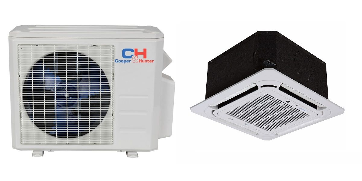 High Quality C H In Minisplitwarehouse If You Are Looking For 18000 Btu 19 Seer Ceiling Cassette Mini Split Hyper Ductless Heat Pump Air Conditioner Heat Pump