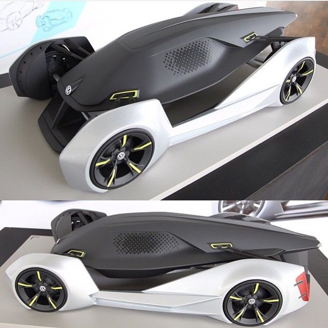 3D Printed Car Model made by @humajun | Sculpture Section