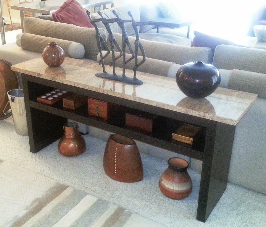 Granite coffee table with expedit wall shelf and lack granite top sofa table ikea hackers Granite coffee table