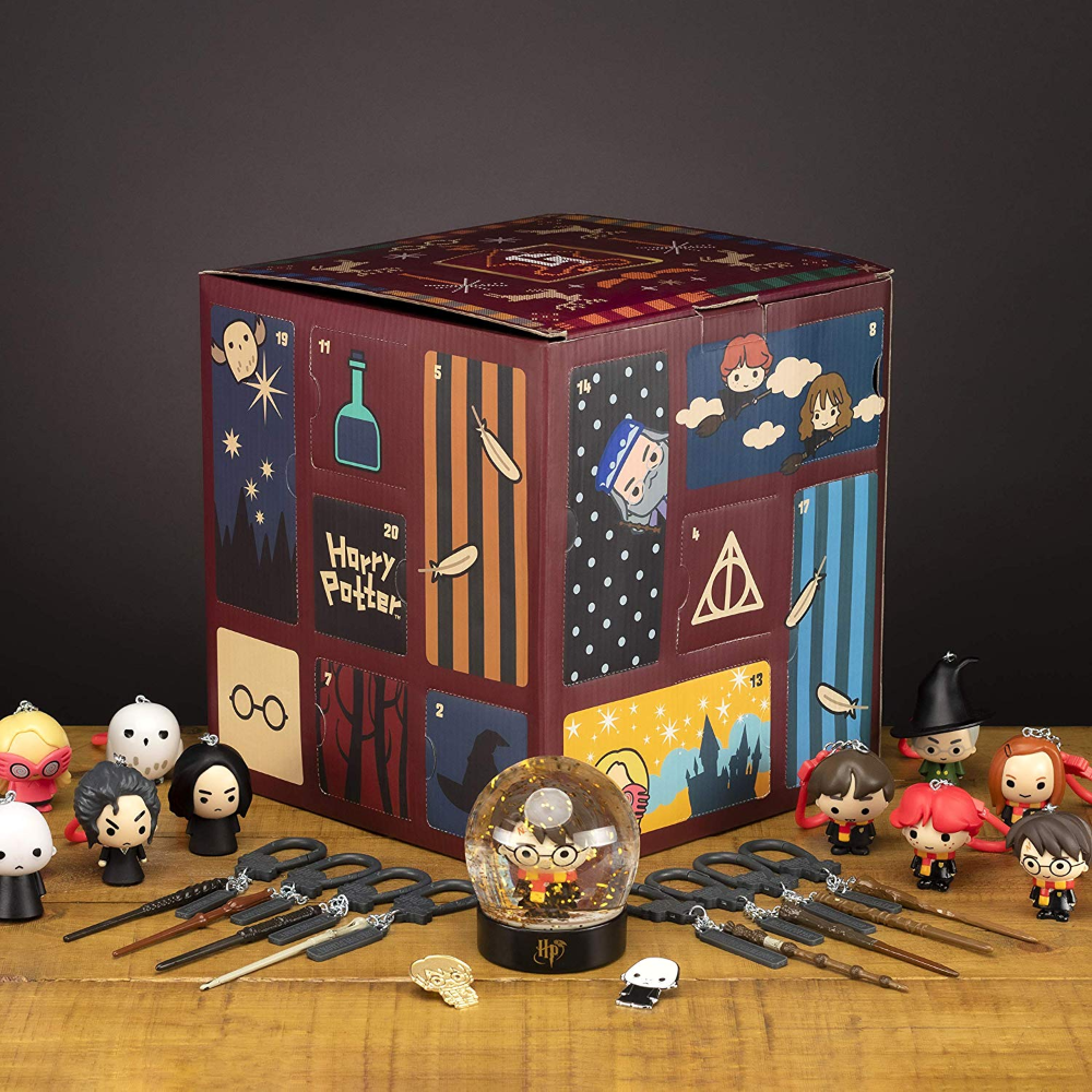 Premium Harry Potter Cube Advent Calendar 24 Door 2019 Full Of Hogwarts Gifts Surp Harry Potter Advent Calendar Harry Potter Snow Globe Christmas Countdown