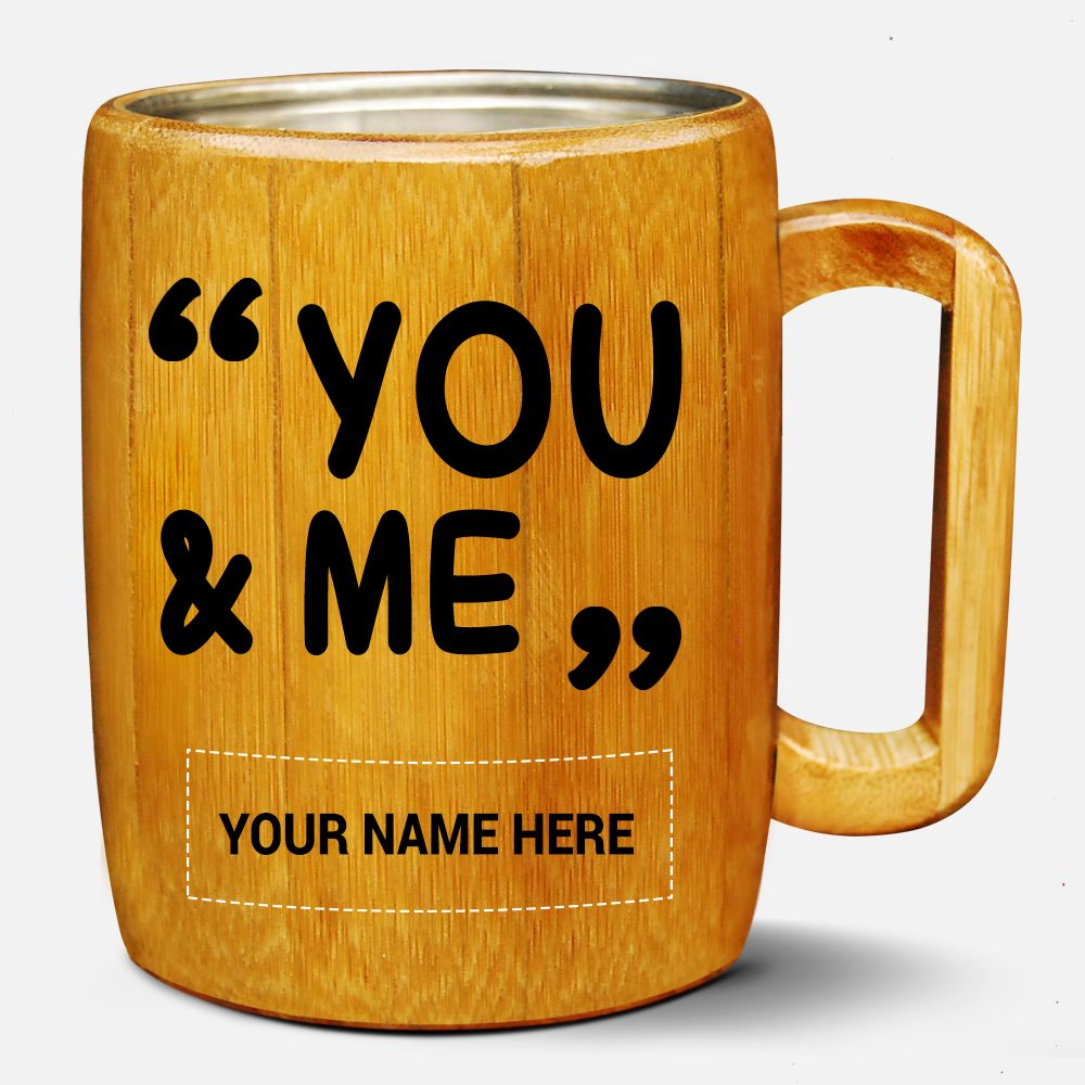 Bamboo/ Coconut Wood Coffee Mug Mugs, Wood mug, Coconut wood