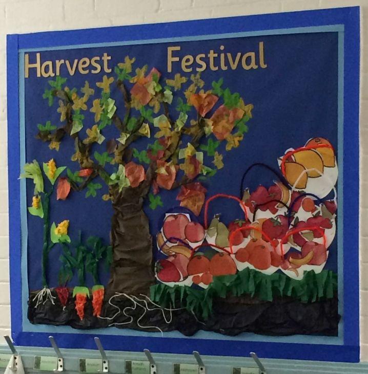 Display Ideas Re: Harvest Festival Display