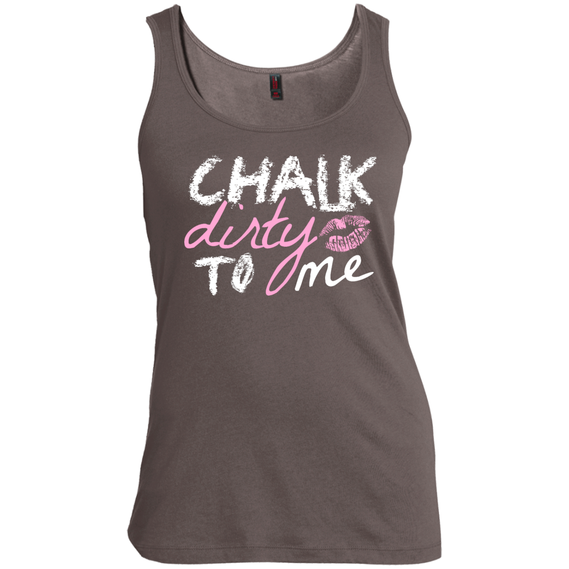 Chalk Dirty to Me Women's Scoop Neck Tank Top