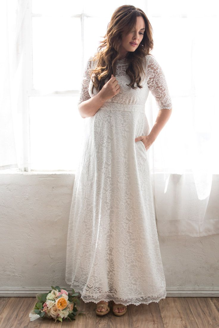 Walk Down The Aisle In Our New Sweet Serenity Wedding Gown This Beautiful Wedding Dress Is Made W Plus Size Wedding Gowns Trendy Wedding Dresses Wedding Gowns