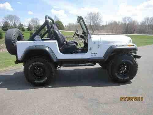 Jeep Cj 7 Built Amc 401 V8 On Or Off Road 4x4 Cj7 Image 2 Jeep Cj Used Jeep Jeep Cj7
