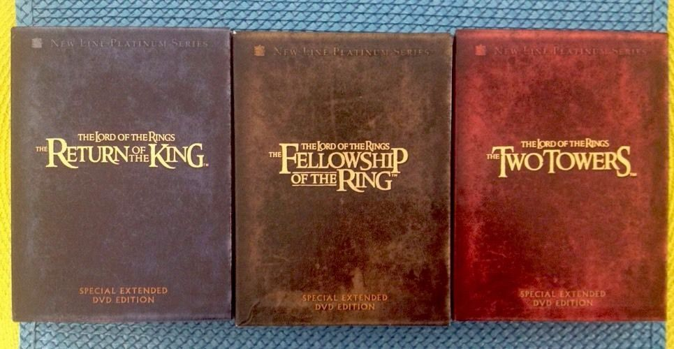 Lord Of The Rings Motion Picture Trilogy Special Extended Edition 12 Dvd 3 Sets Motion Picture Trilogy Lord Of The Rings