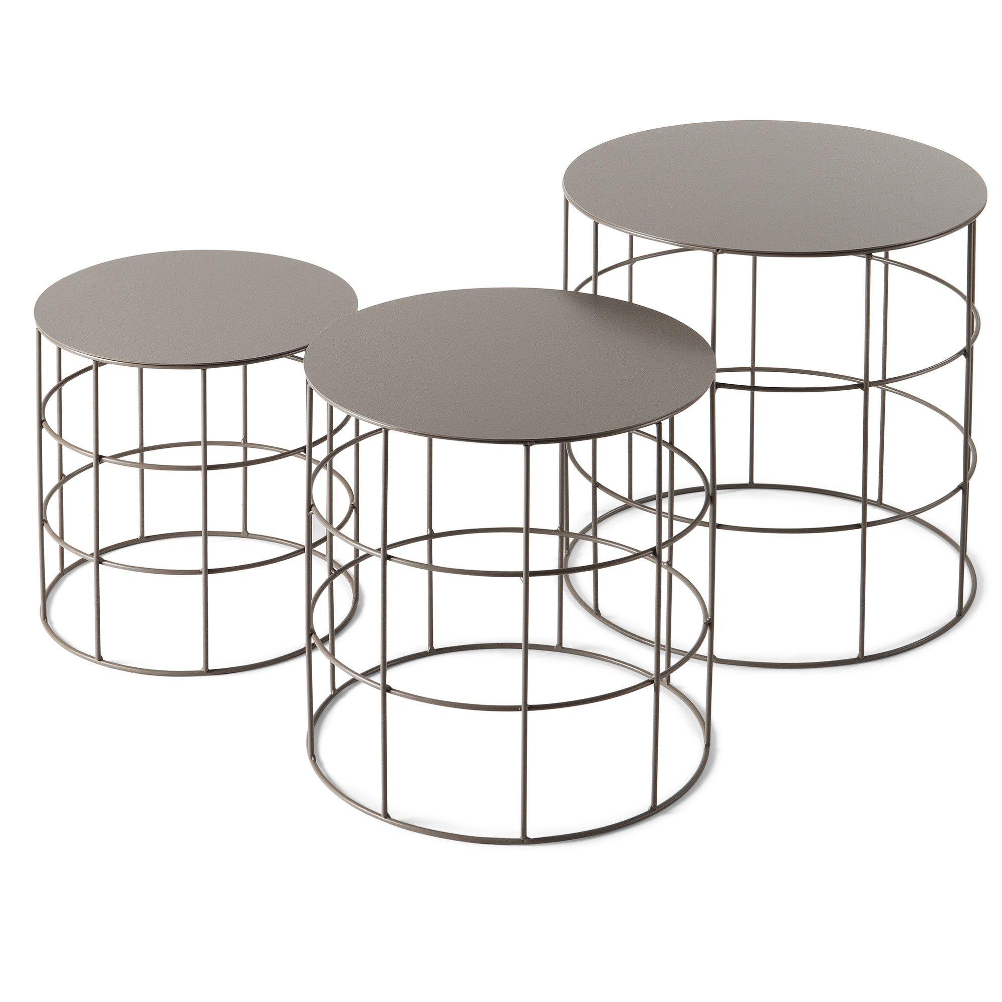 Best Reton 3 Piece Coffee Table Set 400 x 300