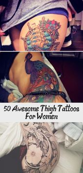 Photo of 50+ Awesome Thigh Tattoos For Women – Tattoos  50+ Awesome Oberschenkel Tattoos …