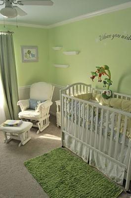 Baby Nelson Serene Green Gender Neutral Nursery Decor