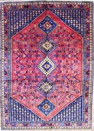 orange yalameh rug and carpet handknotted in yalameh iran Yalameh