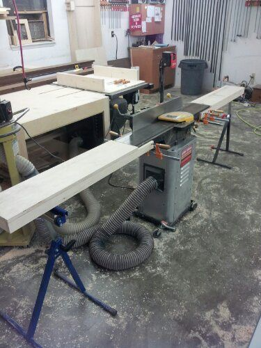 Jointer Extension Tables Furniture Woodworking Shop