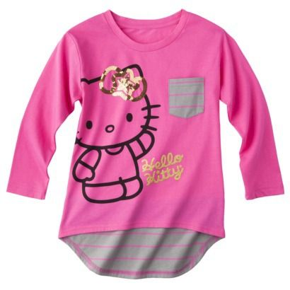 d5e293129 Hello Kitty Hello Style Girls' Tee - Diva Pink | Target Finds for ...