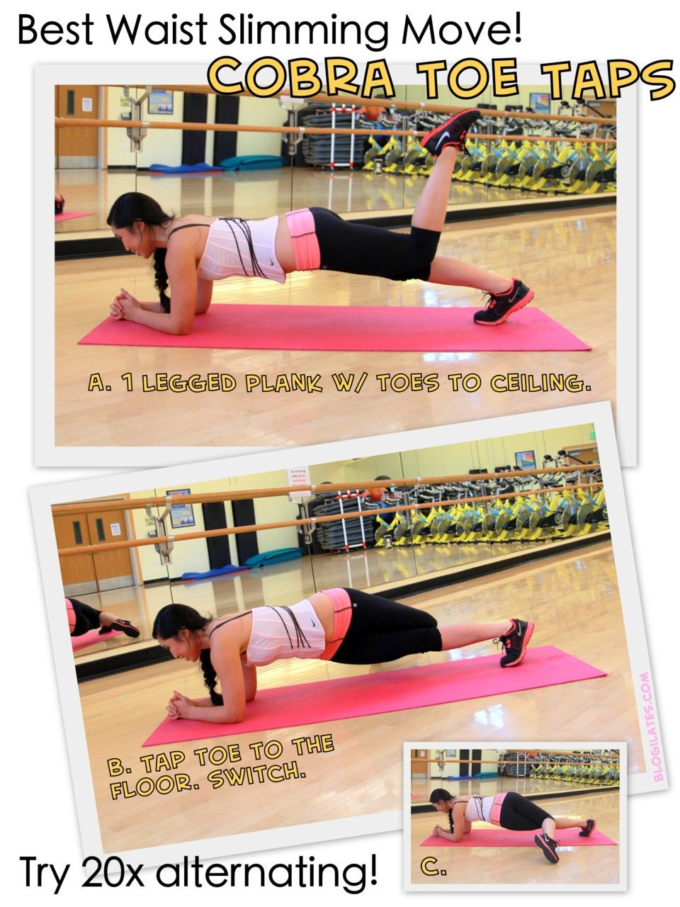 Workout Get Fit Plank Workout