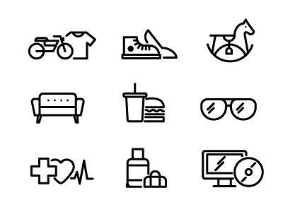 Scotty Simpson - Random icons — Designspiration 이건그냥목마가 귀여워서