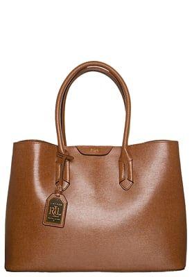 Tassen Lauren Ralph Lauren CITY - Handtas - tan/cocoa Cognac: € 202,95 Bij Zalando (op 9-6-16). Gratis bezorging & retournering, snelle levering en veilig betalen!