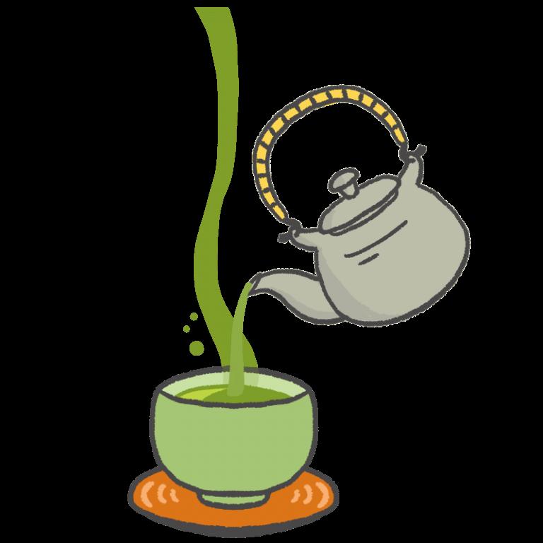お茶を注ぐイラスト | イラスト, フリー素材 イラスト, イラスト まとめ