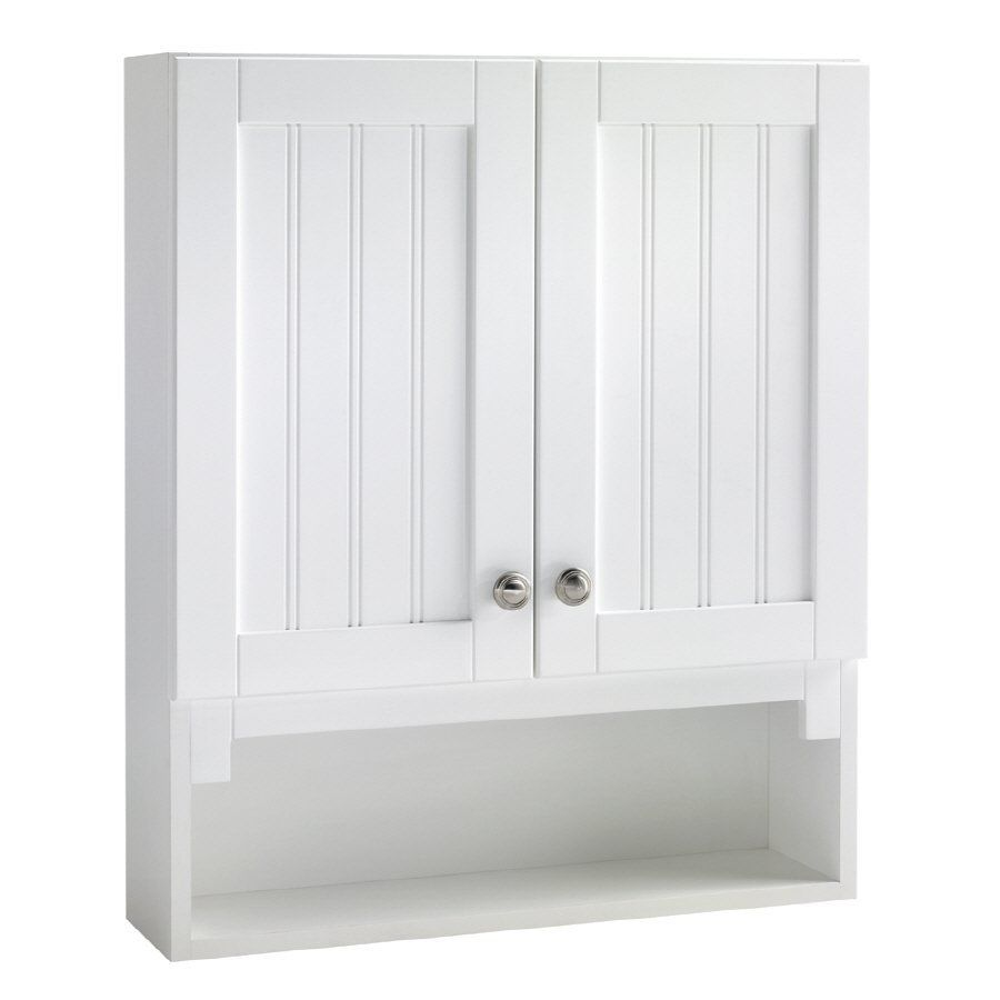 Estate By Rsi Tt217 Boardwalk Storage Cabinet At Lowe S Canada 100 Bathroom Wall Cabinets Over The Toilet Cabinet Storage Cabinet