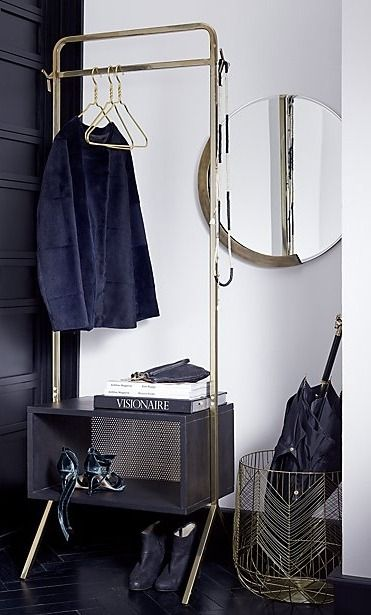Blanche metal baskets | Towels, Iron and Modern
