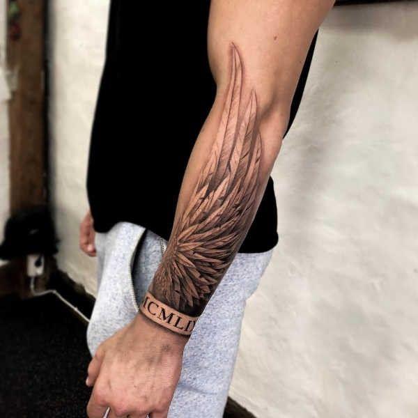 Ali Significato Idee E Foto In 2020 Sleeve Tattoos Forarm