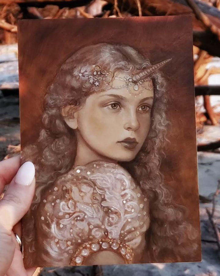 Isadora Et Marisa Instagram : isadora, marisa, instagram, Annie, Stegg, Gerard, (@anniestegg), Instagram, Photos, Videos, Underpainting,, Mermaid, Painting