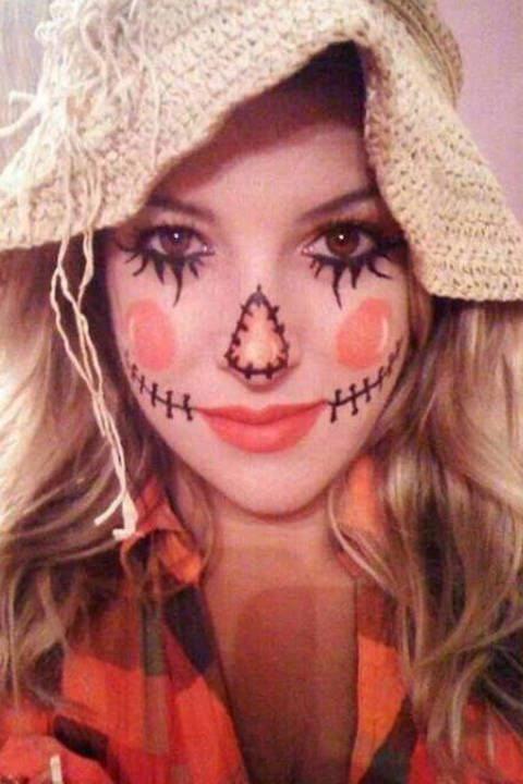 35 Sexy (and Spooky!) Halloween Makeup Looks That\u0027ll Inspire You - sexy halloween decorations