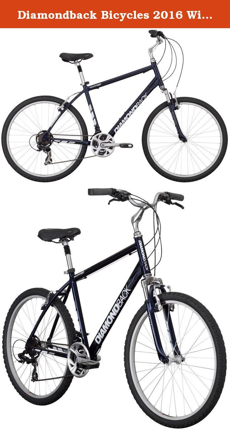 896009dd74d Diamondback Bicycles 2016 Wildwood Classic Complete Comfort Bike, Blue, 19