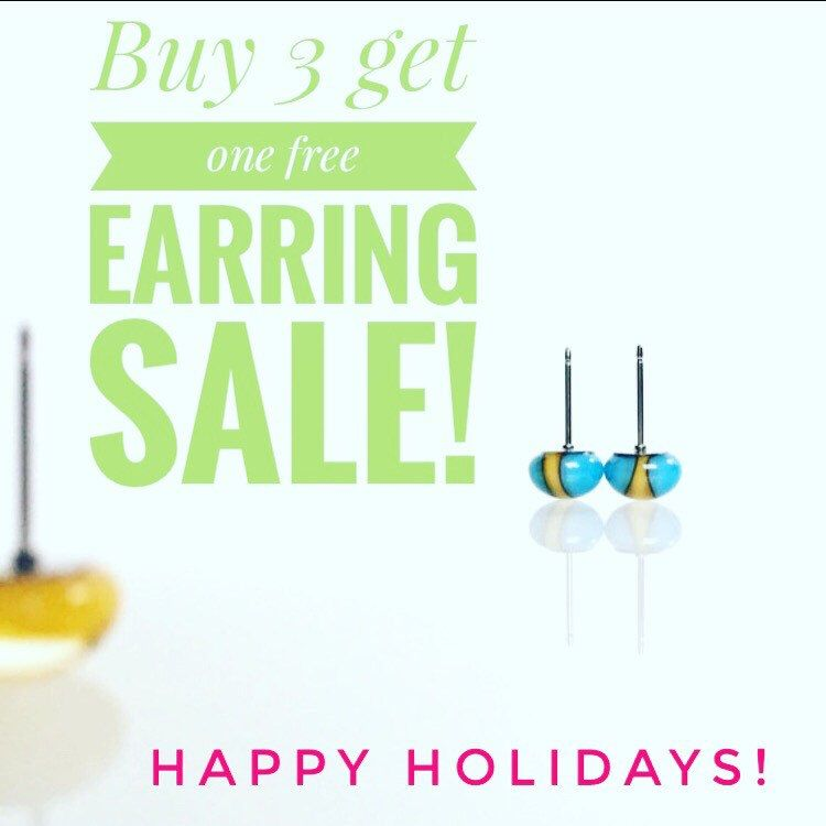 Coupon code: FREEEARRINGS