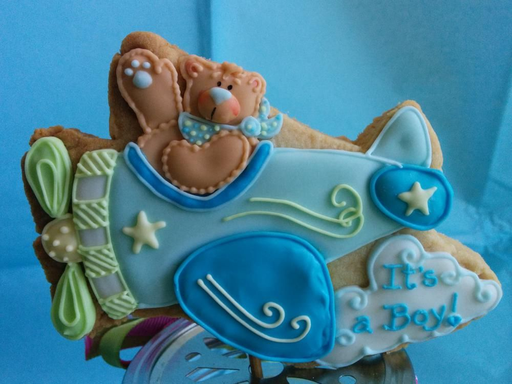 Baby shower airplane! | Cookie Connection