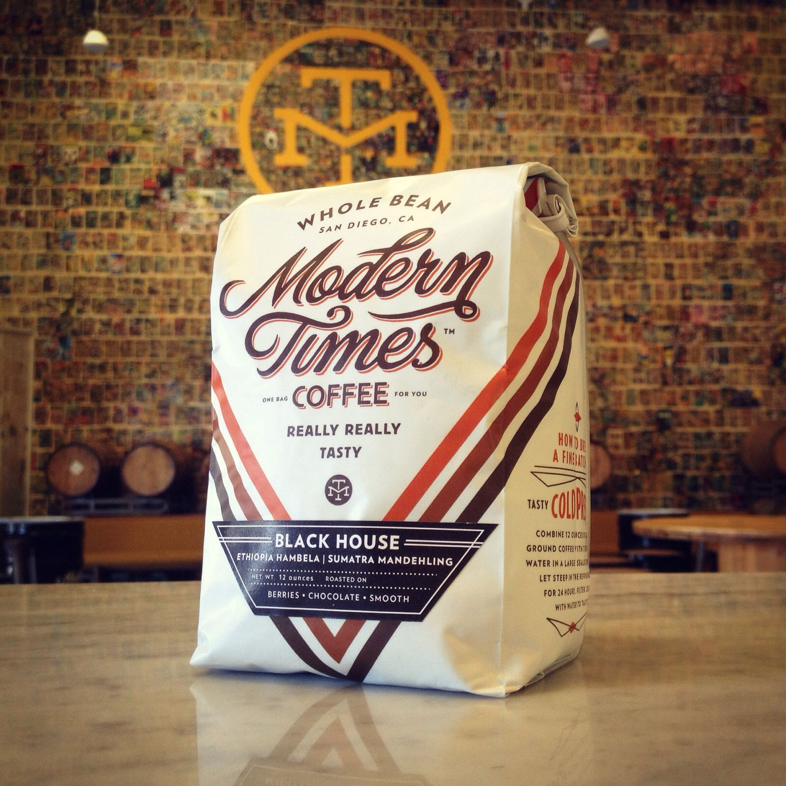 Modern Times Coffee. Ooo la la.