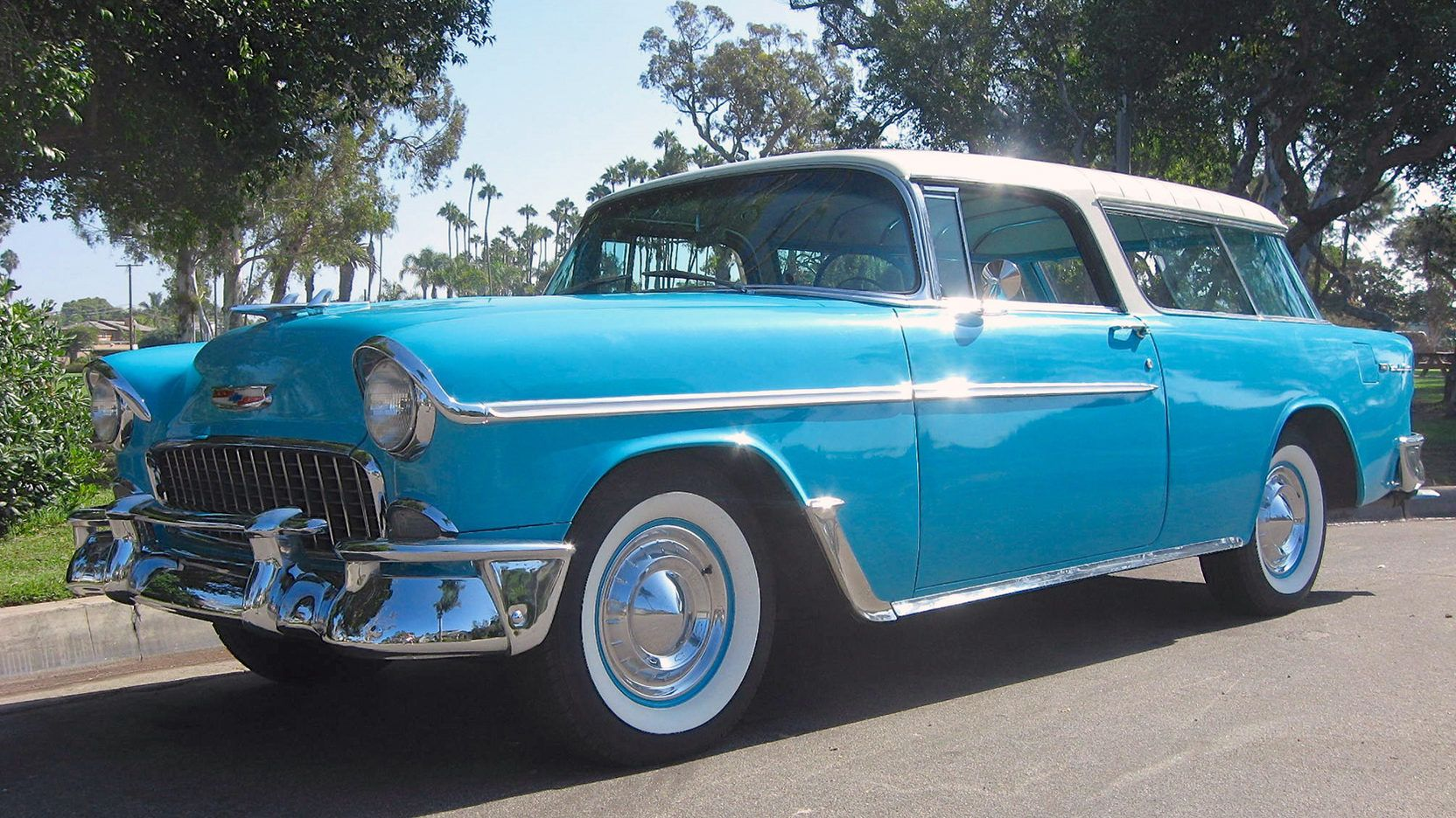 1955 Chevrolet Nomad Presented As Lot S72 At Anaheim Ca 1955