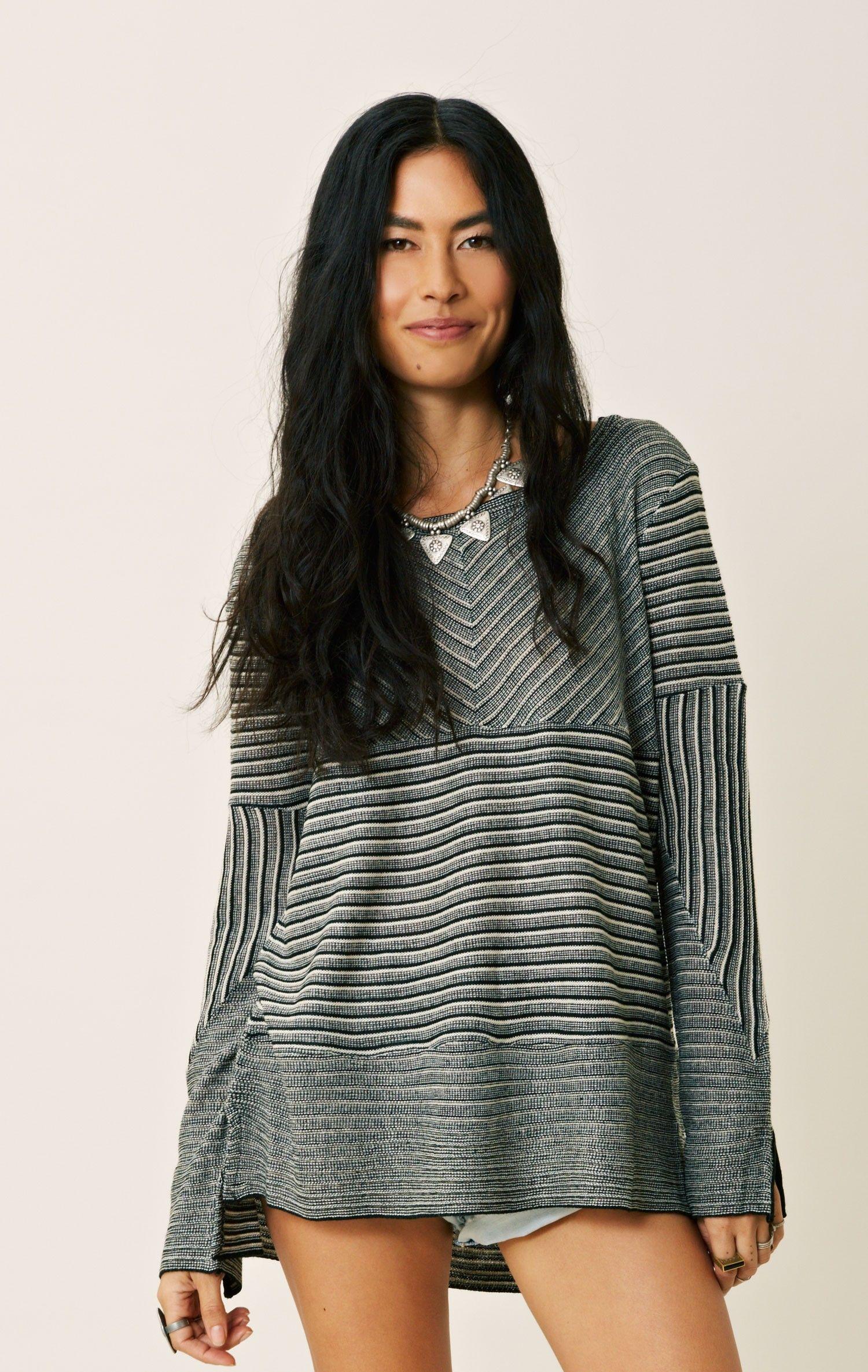 BB DAKOTA MARCEL NOVELTY STRIPE SWEATER | Stripe sweater