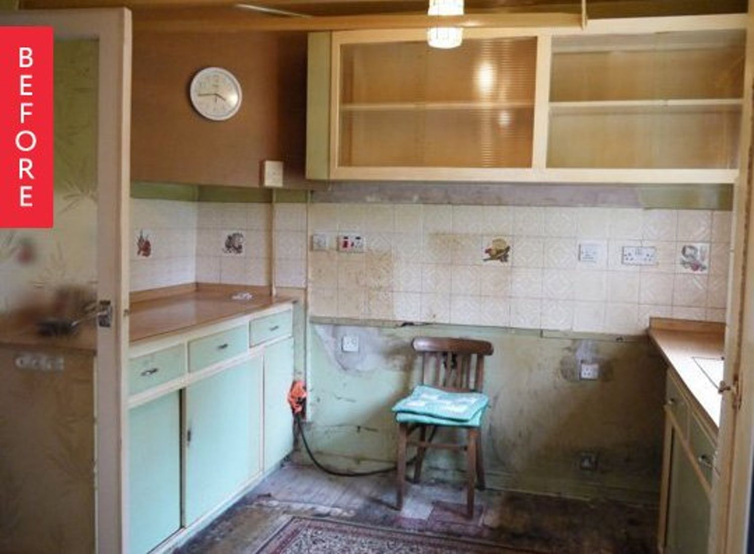 before after 1950 s kitchen renovation gets a modern update