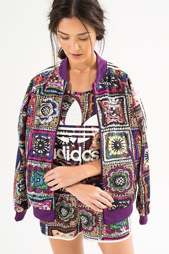 29871bd1559 jaqueta crochita adidas
