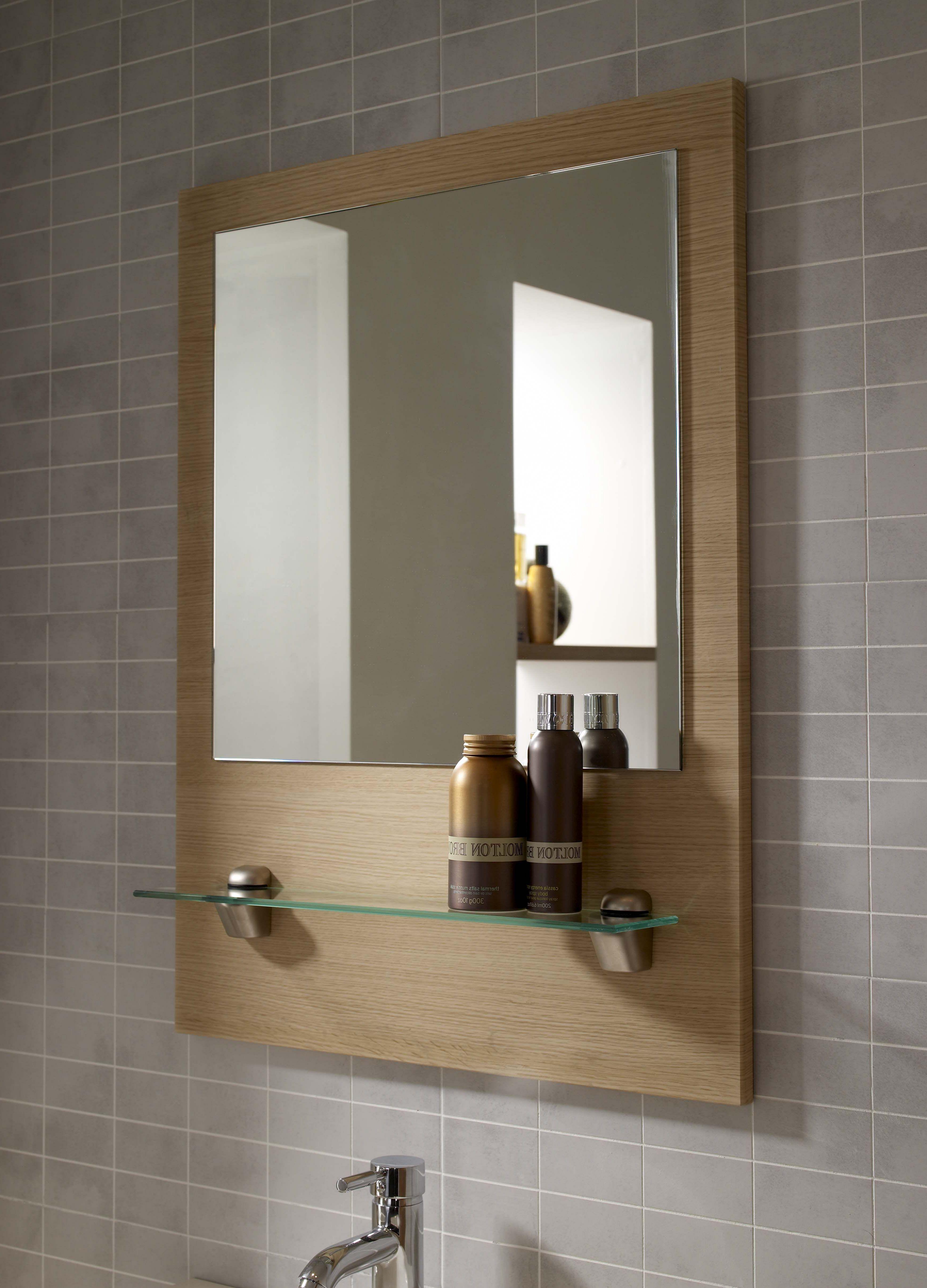 10 Comfortable Bathroom Accessories Ideas To Complete Your Bathroom Design Decorating Bathroom Mirror With Shelf Bathroom Mirror Frame Industrial Bathroom Mirrors [ 4838 x 3480 Pixel ]