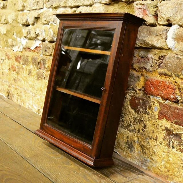 Antique Wall Cabinets At D And A Binder