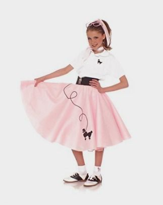 Hip Hop 50s Shop 7 Piece Child Poodle Skirt Outfit Amazon Kids Costume //amzn.to/2cqykDN  sc 1 st  Pinterest & Hip Hop 50s Shop 7 Piece Child Poodle Skirt Outfit: Amazon Kids ...