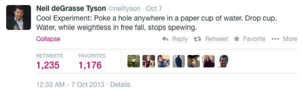 Neil DeGrasse Tyson's Most Mind Blowing Tweets
