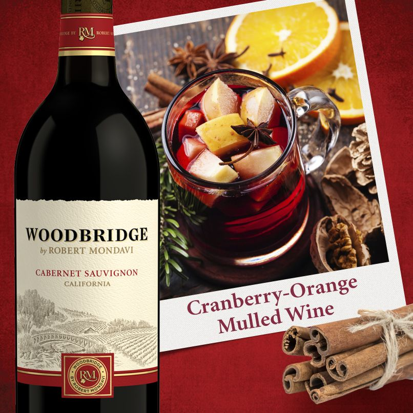 Slow Cooker CranberryOrange Mulled Wine Mulled wine