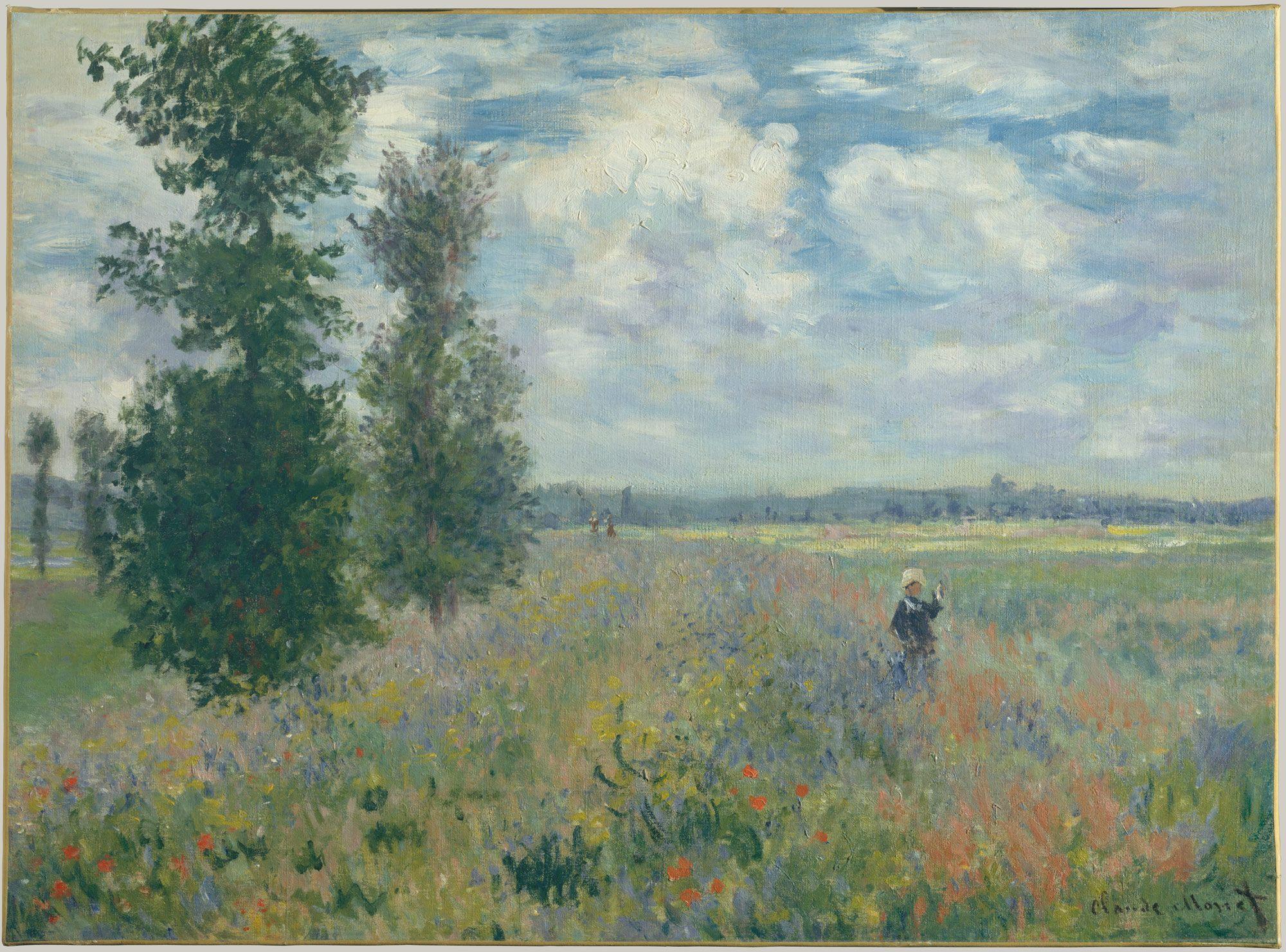 Claude Monet Poppy Fields Near Argenteuil The Metropolitan Museum Of Art Monet Art Claude Monet Paintings Artist Monet