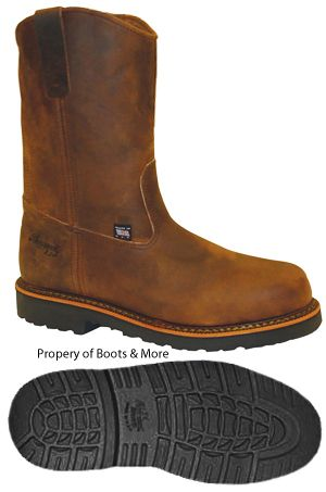 Thorogood Steel Toe Wellington Work Boot [804-3310] - $149.99 ...