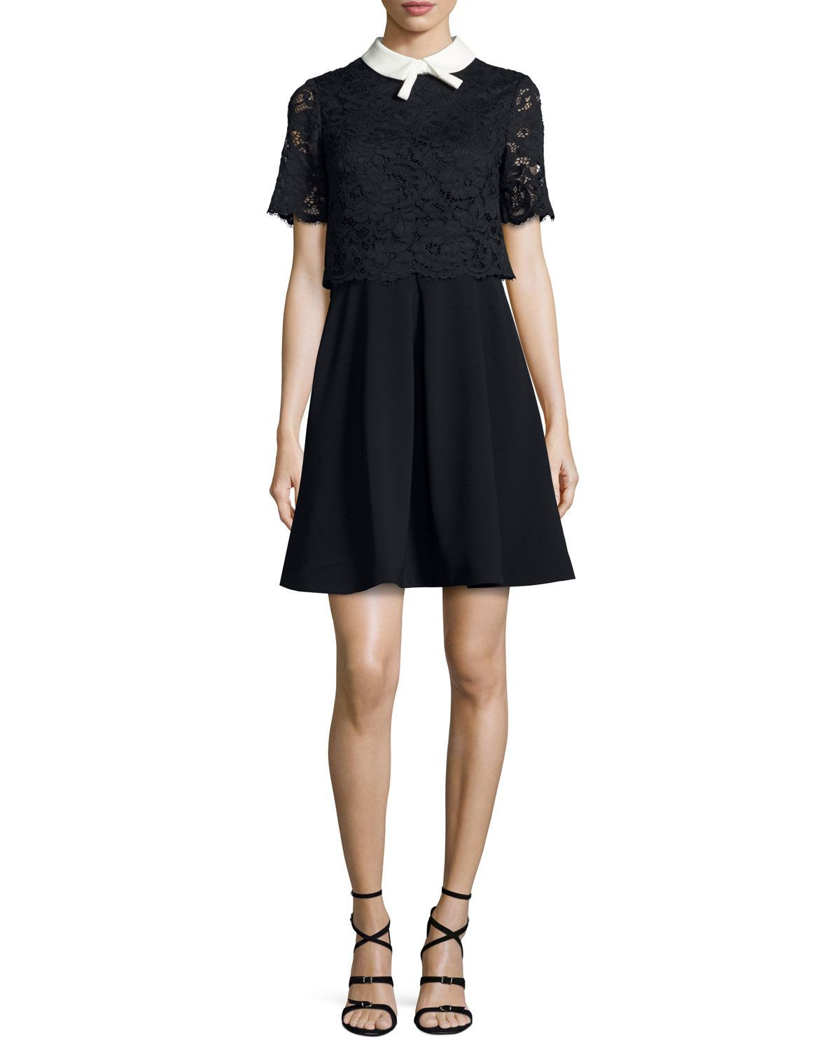 Dixxy lacepopover dress navy products pinterest dresses ps