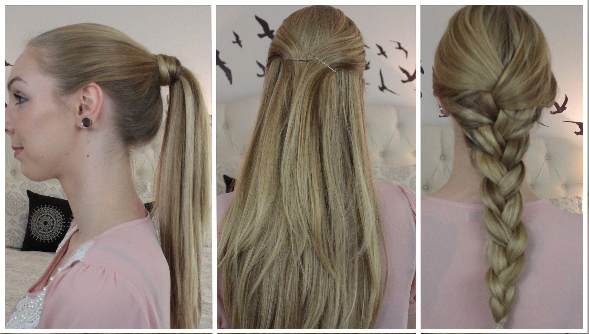 3 Coiffures Basics Avec Extensions Extension De Cheveux Naturel Produits Capillaires Extension Cheveux