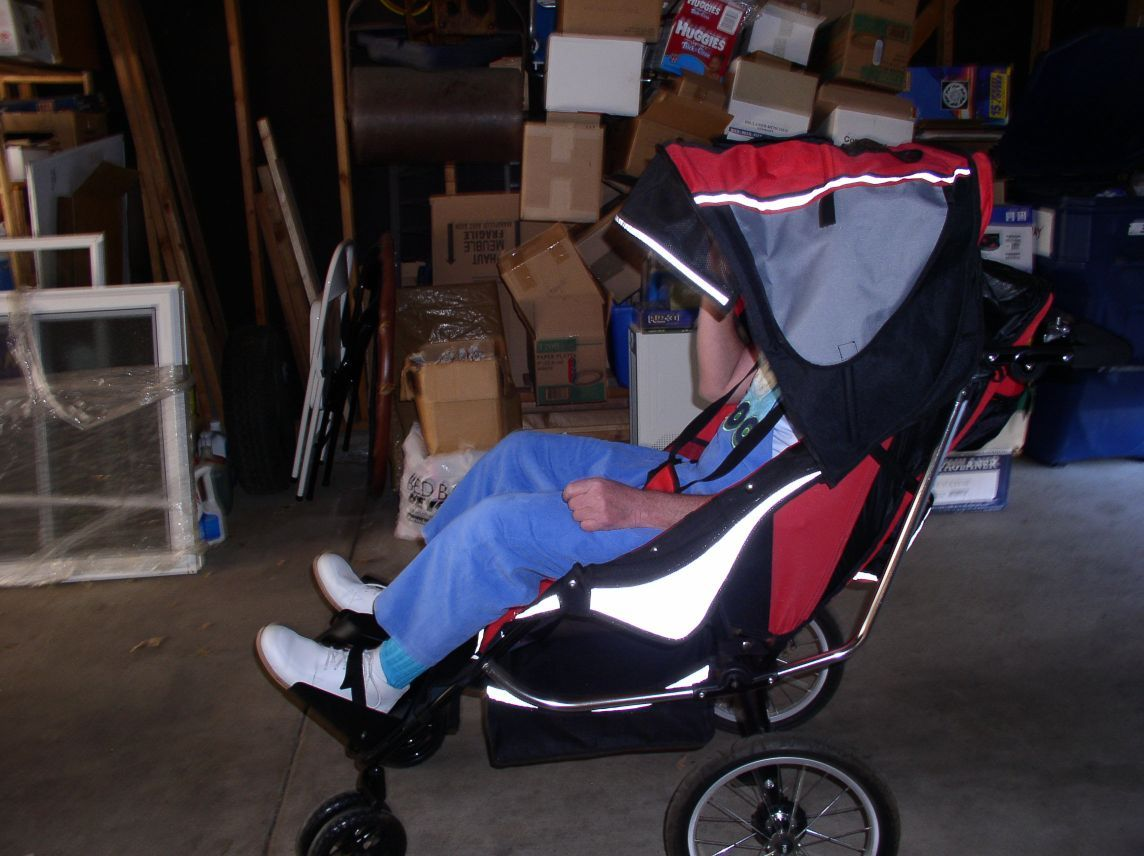 Not deceived adult baby stroller not absolutely