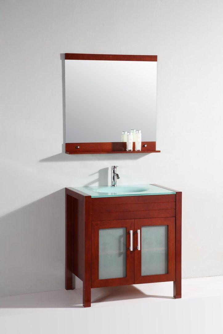 Superieur Legion Furniture Vanity Art Top Single Sink Bathroom Vanity With Mirror